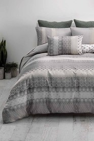 LINEN HOUSE Lavadero quilt cover set kb