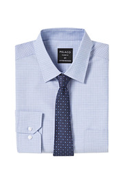 PELACO Small Check Classic Fit Shirt