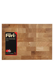 FURI Made from Ash timber which is a highly durable wood with an end grain construction for strength.Board designed for easy chop and transfer of food