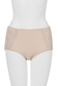 KHOKO Cotton embroidered full brief