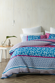 PHASE 2 Papillon Soft Touch Microfibre Quilt Cover Set QB