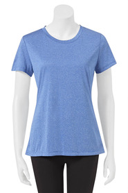 CHAMPION womens double dry heather tee