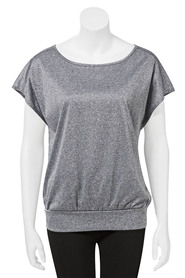 LMA ACTIVE Womens Hip Hugger Tee