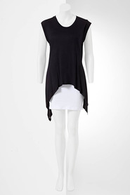 SIMPLY VERA VERA WANG Tiered Knit Top