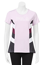 FILA WOMENS TIFFINY HALL BOLD TEE