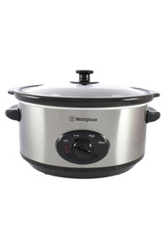 WESTINGHOUSE 3.5L Slow Cooker Stainless Steel