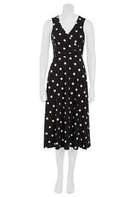 KHOKO Emma Spot Print Wrap Dress