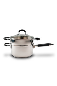 CLASSICA  Pinnacle stainless steel saucepan 20cm+stea