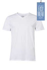 URBAN JEANS CO Organic yarn v neck tshirt