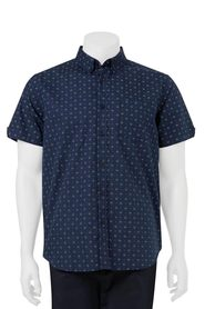 URBAN JEANS CO Short sleeve geometric print shirt