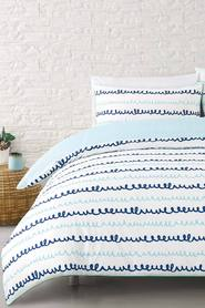 MOZI Tilly cotton percale quilt cover set qb