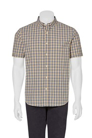 Highlander grid chk ss shirt 06hs354