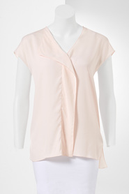 SIMPLY VERA VERA WANG Pleat Blouse