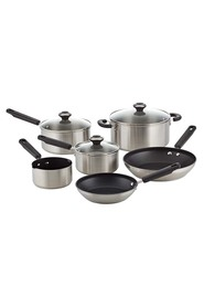 RACO 6Pc limited edition stainless steel cookset