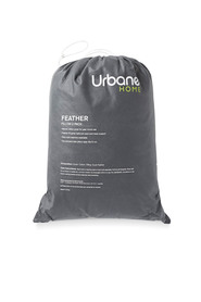 URBANE HOME 2pk Feather Pillows