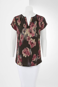 SIMPLY VERA VERA WANG City Floral Top