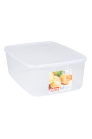 DECOR Tellfresh Plastic Oblong Food Storage Container 10 Litre