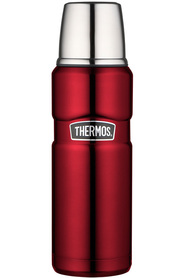 THERMOS  King stainless steel red flask 470ml
