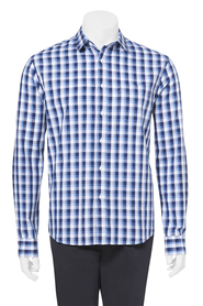 Highlander gingham chk ls shirt 06hs110
