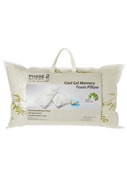 PHASE 2 Gel Infused Shredded Memory Foam Pillow
