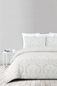SHAYNNA BLAZE Genoa textured polycotton quilt cover set kb