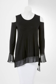 SIMPLY VERA VERA WANG Cold Shoulder Top