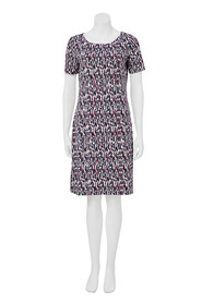 KHOKO Camilla graphic print dress
