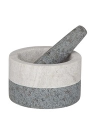 D+w akin granite mortar & pestle 13x8cm