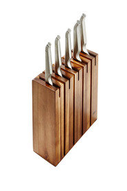 Furi 6pc segmented knife block