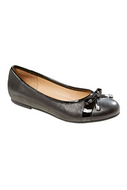 Hush puppies veda bow toe cap ballet