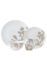 LINEN HOUSE Cassia 16 Piece Porcelain Dinner Set