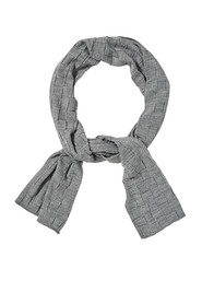 Savannah check pattern scarf x7sas26