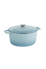 SMITH & NOBEL  Traditions cast iron casserole 5l blue
