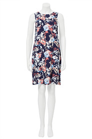 KHOKO Louise floral tie back dress