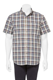 Highlander ss check shirt 06hs351