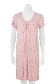 SAVANNAH Short slevee gathered nightie