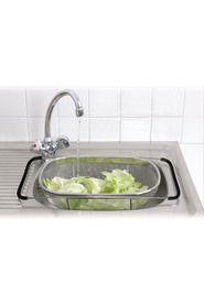Dline large expandable sink top strainer