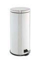 STORE ROUND PEDAL BIN 30L, RED