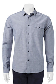 URBAN JEANS CO Chambray long sleeve shirt