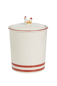 S+n ceramic chicken canister 2l