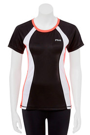 FILA Womens block tee by tiffiny hall