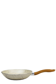 CLASSICA AVERE 32CM MARBLE FRYPAN W WOOD