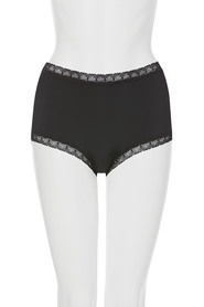 LUCA & MARC Micro and lace full brief