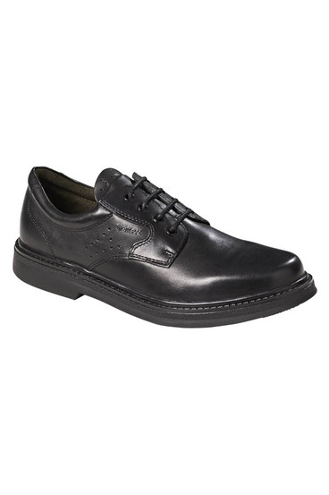 Slatters pace business leather lace up