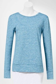 SIMPLY VERA VERA WANG Women'S Chill Long Sleeve Top