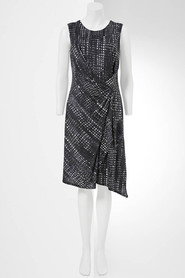SIMPLY VERA VERA WANG Erased Check Dress