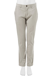 VAN HEUSEN Cotton sateen flat font trouser