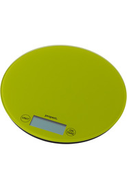 PROPERT  5Kg Glass Scale Rnd Green