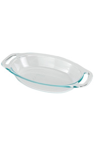 PYREX Easy Grab Glass Ovenware Oval Roaster