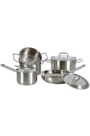 SCANPAN Commercial 5pc Stainless Steel Cookset